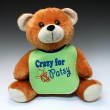 Crazy for Patsy Bib